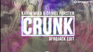 2о15! Karim Mika & Daniel Forster - Crunk ( Аfrojack Edit )