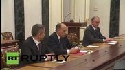 Russia: Putin meets Security Council over Sinai crash, Ukraine & Syria talks