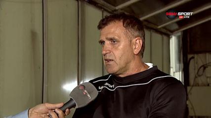 """Акрапович: Играчите не показаха """"топки"""" и ще имат проблем"""
