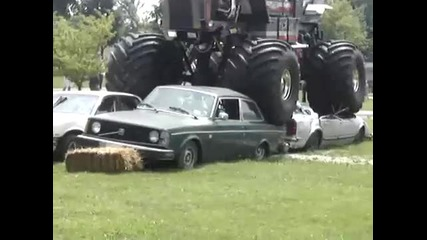 Hog In Action monstertruck