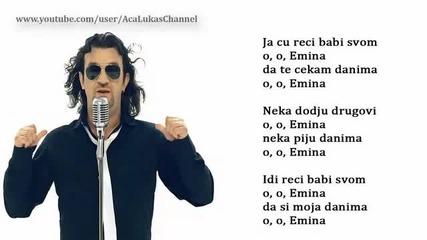 Aca Lukas - Emina - (Audio - Live 1999)