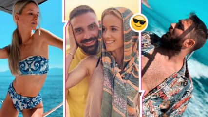 Лято без край: Тото от СкандаУ и красавицата Кристин откриха топ местенце в Египет