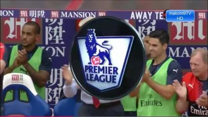 Кристъл Палас 1-2 Арсенал/ Висша Лига