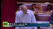Greece: 'We face a new Treaty of Versailles,' Varoufakis tells parliament