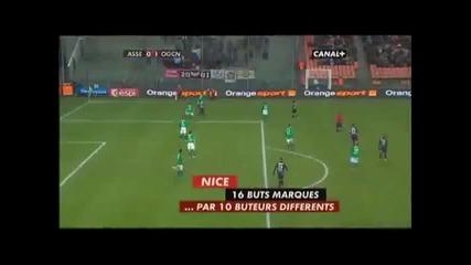 Saint Etienne 0 - 1 Страхотен гол на Кафумба Кулибали