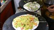 Бърза Храна на улицата в Мумбай - Masala Uthapam Dosa - Mysore Special Doda