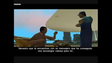 Grand Theft Auto Vice City tiroteo en el centro comercial