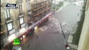 Проливни дъждове превърнаха в блато улиците в Италия и Гърция