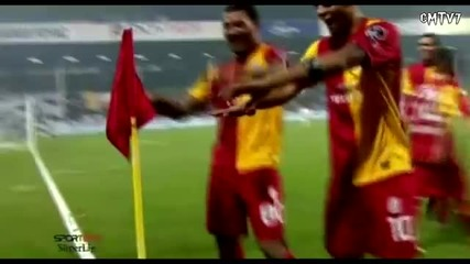 Colin Kazim & Felipe Melo Dance Vs Orduspor