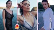 Диана Димитрова нажежи страстите, качи снимка без горнище