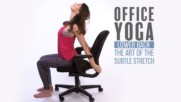 "Office Yoga: Lower back stretches aka ""the Reboot"""