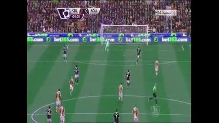 Невероятно ! Вратар вкара гол от 103 метра