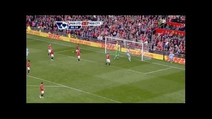 Манчестър Юнайтед 1-6 Манчестър Сити