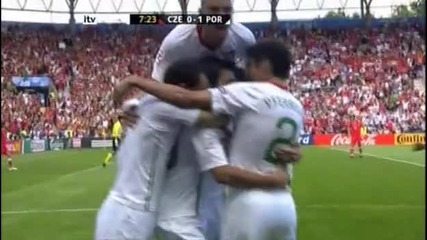 Czech Republic 0 - 1 Portugal - Deco