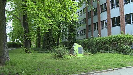 Germany: Berlin synagogue memorial stone vandalised amid escalating Israeli-Palestinian conflict