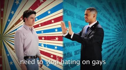 Barack Obama vs Mitt Romney. Епични битки рап на историята Сезон 2.