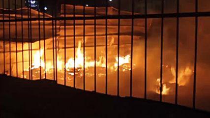 Morocco: Huge blaze engulfs migrant camp in Casablanca, no casualties reported