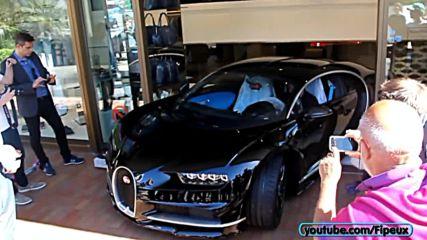 Да доставиш новото Bugatti Chiron или как се прави впечатление в Монако!