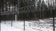 Latvia: Work begins on 57-mile fence along Russian border
