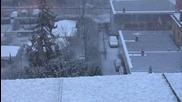Сняг над София