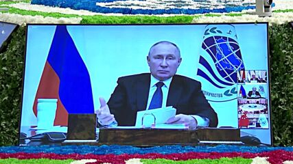 Tajikistan: Putin urges SCO members to adopt common policy in Afghanistan following 'hasty' US withdrawal