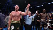 USA: Stubborn Fury somehow beats 12th round count to deny Wilder