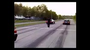 Audi s2 Пада Позорно От Nissan Skyline R32 !