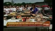 Selena Gomez Interview & Cooks Live On Early Show 06/29/2009