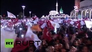 Turkey: Triumphant Davutoglu tells AKP supporters 'there are no losers today'
