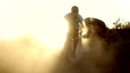Красотата на природата и на спорта(планинско колоездене)