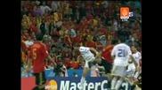 18.06 Гърция - Испания 1:2 Ангелос Харистеас гол