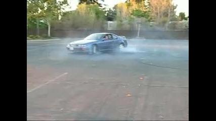 Honda Prelude - Опит за дрифт?