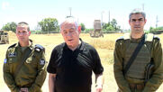 Israel: 'We continue to strike Hamas' - Netanyahu at Lod Iron Dome missile defence system