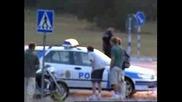 Ето как се бяга от полицията