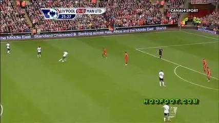 Ливърпул - Манчестър Юнайтед 1:2 ( Англия, Висша лига (23-09-2012