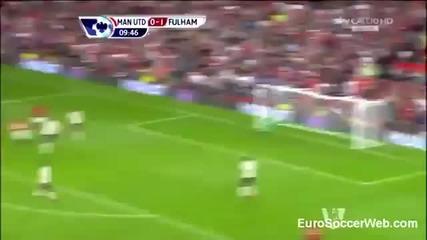 Ван Перси с първи изумителен гол за Юнайтед