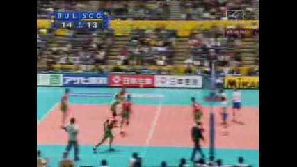 Волейбол: България - Сърбия 4ти гейм!