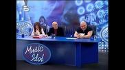 Music Idol 2 - 26.02.08г. - Футболистката Стелиана Стефанова скъсана на изпита High Quality