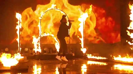 The Weeknd- The Hills ( American Music Awards 2015 )