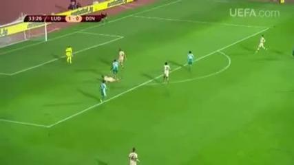 Uefa com: Ludogorets - Dinamo 3-0