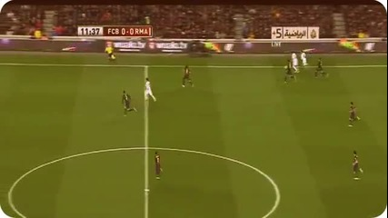 Ел Класико !! Real Madrid шамароса Barcelona с 3-1 (26.02.13.2013)