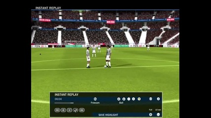 Fifa 2010 Demo Freekick goal