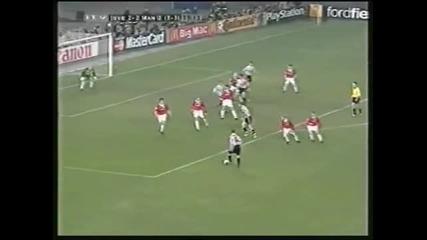 Ювентус - Манчестър Юнайтед 21.04.1999 Полуфинал Реванш