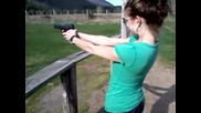 girl shooting 9mm pt.2