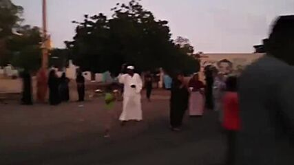 Sudan: Fires light up Khartoum skies as locals protest amid reports of military coup