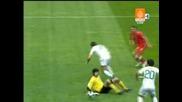 Портогали - Турция 1:1 - Deco