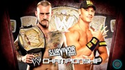 2013- Wwe Surviour Series Cm Punk Vs John Cena Matchcard Hd