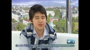 Иван на 13 печели състезание по Математика ( Здравей България 2011.01.19 част6 )
