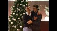 Кристиано Роналдо и Кака ви пожелават весели празници *hd*