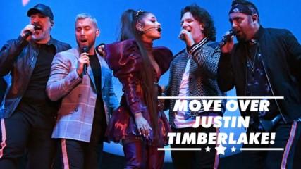 Ariana Grande makes the best NSYNC member at Coachella